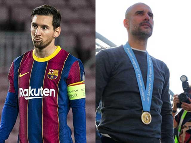 Messi chưa chắc về Man City vì Pep Guardiola: Gây sốc hội ngộ ở PSG?