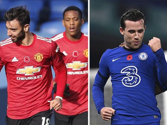 Kịch tính bảng xếp hạng Ngoại hạng Anh: Chelsea vào top 3, MU thắng lớn xếp thứ mấy?