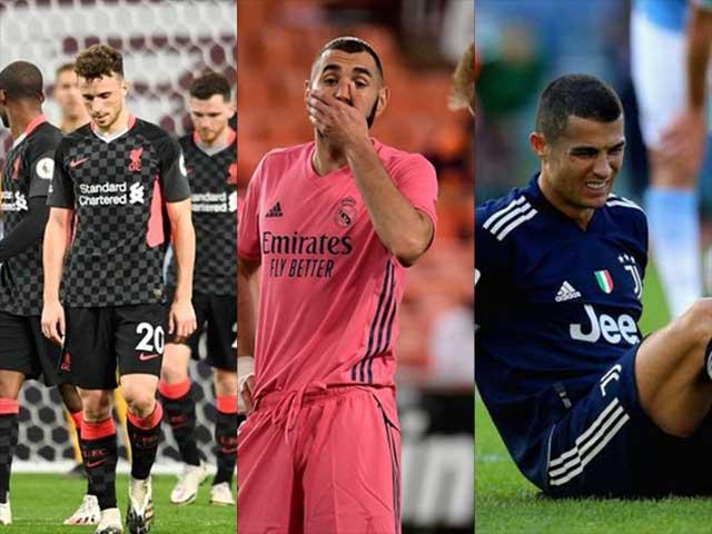 Bóng đá châu Âu khốc liệt: Kịch bản sốc Liverpool, Real, Juventus mất ngôi vương