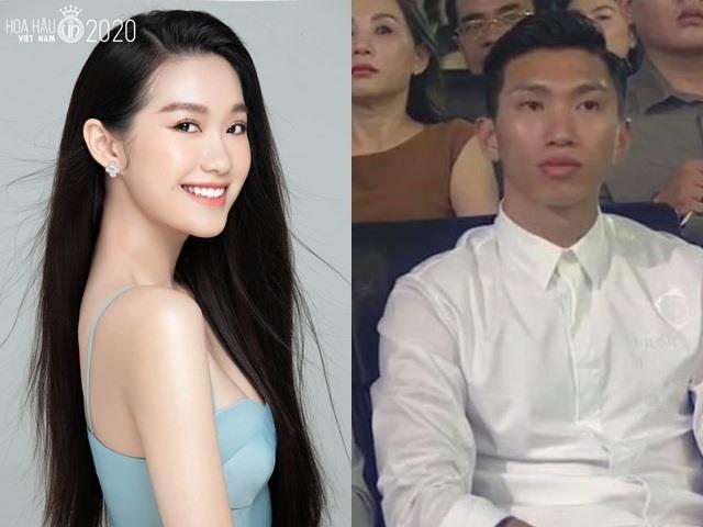 Hot: Văn Hậu ôm, an ủi bạn gái chỉ dừng chân top 10 Hoa hậu Việt Nam