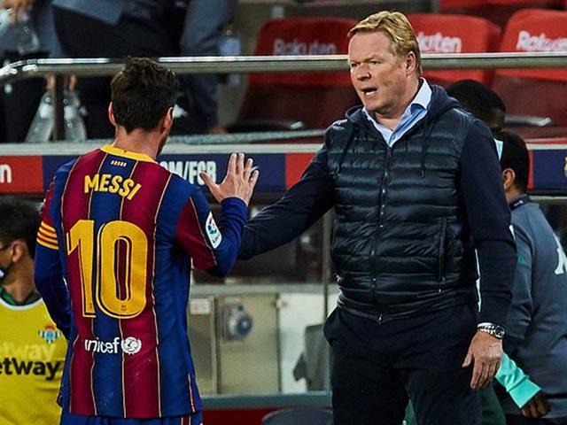 Tin HOT bóng đá tối 21/11: Koeman vẫn tin Messi sẽ ở lại Barca