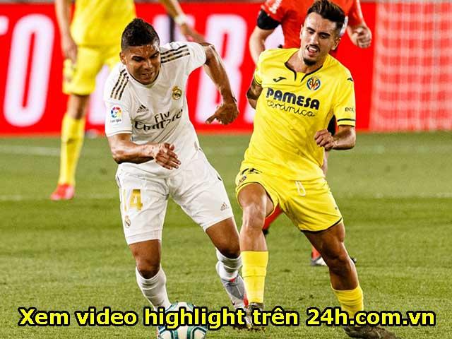 Trực tiếp bóng đá Villarreal - Real Madrid: Miệt mài tấn công