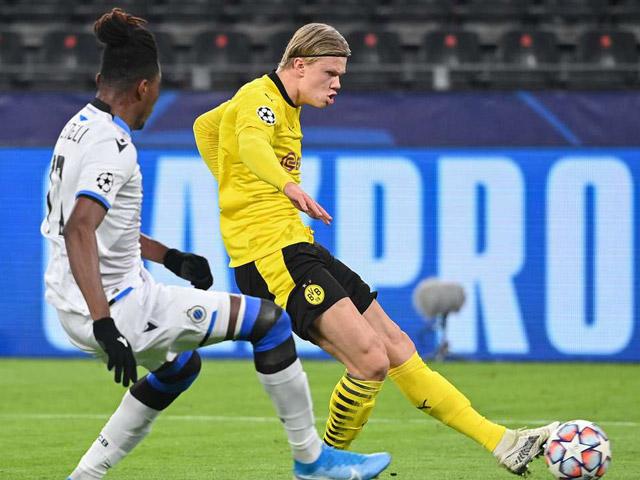 Dortmund - Brugge: Haaland - Sancho tung hứng bàn thắng (Kết quả bóng đá Cúp C1)