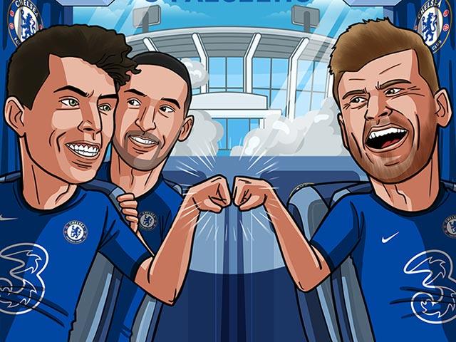 Ảnh chế: Phong độ thăng hoa, Chelsea thẳng tiến vòng 16 đội cúp C1