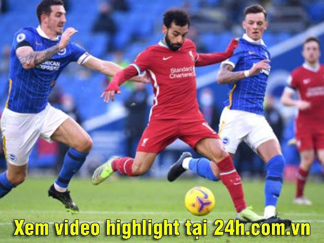 Video Brighton - Liverpool: Xuất thần bàn mở tỷ số, nghiệt ngã VAR phút 90+3