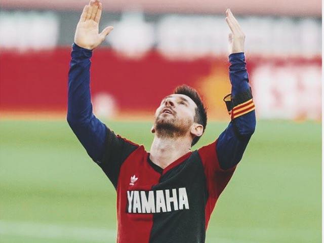 Messi tri ân Maradona đầy cảm xúc, ghi tuyệt phẩm kèo trái uy lực
