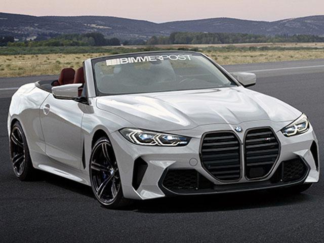 BMW M4 Convertible xuất hiện trên phố trong lớp ngụy trang