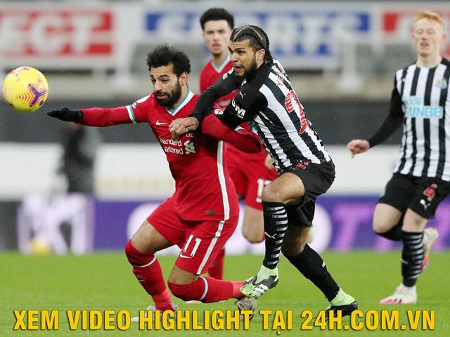 """Video Newcastle - Liverpool: """"Người nhện"""" xuất thần, vô duyên khó ngờ"""