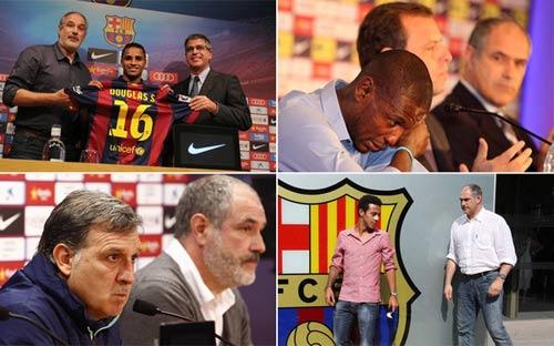 """""""Đốt tiền"""" giỏi như Barca"""