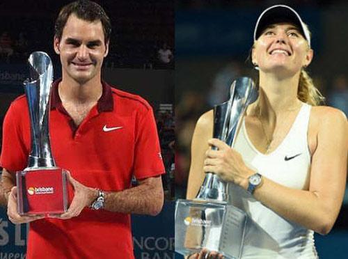 BXH Tennis 12/1: Điểm nhấn Federer & Sharapova