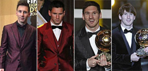 Thời trang của Messi