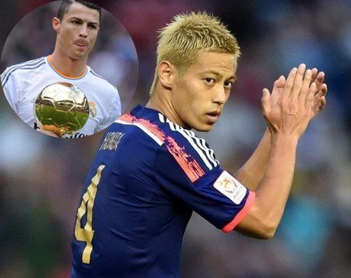 Ngôi sao Nhật Bản tự tin bắt kịp trình độ của Ronaldo