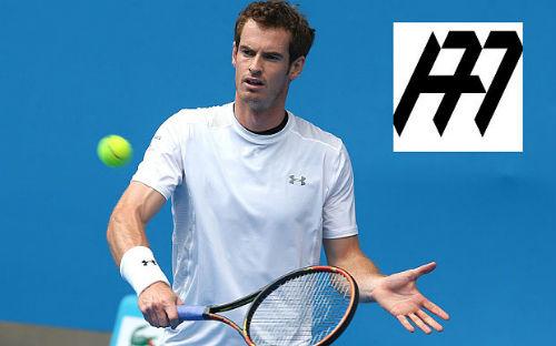 Tiếp bước đàn anh, Murray ra mắt logo cá nhân