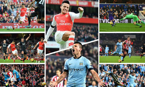 Man City gặp Arsenal: