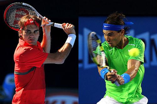 Federer cạnh tranh gắt gao với Nadal trên Facebook
