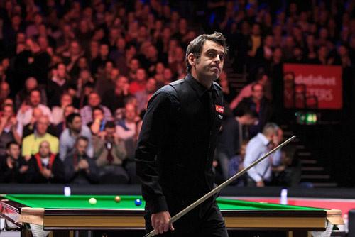 O'Sullivan thảm bại trước cơ thủ số 1 thế giới