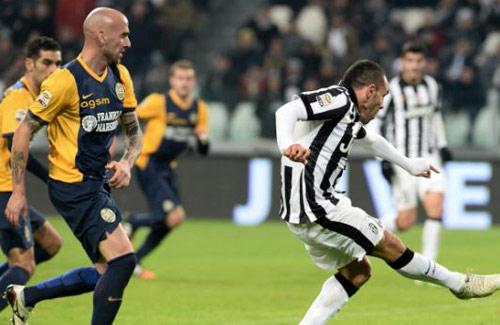 Juventus - Verona: Tối tăm mặt mũi