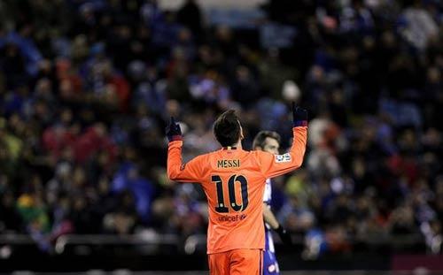 "Messi mới là ""Vua hattrick"""