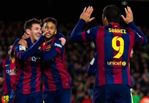 """Barca tái đấu Atletico: Trông chờ """"Bộ 3 nguyên tử"""""""
