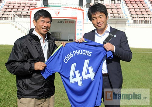 Đội bóng cũ của HLV Miura muốn chiêu mộ Công Phượng