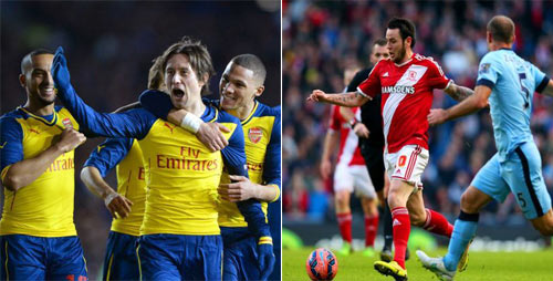 Vòng 5 FA Cup: Arsenal đụng kẻ hạ gục Man City