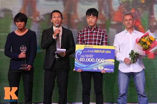 U19 Việt Nam lập cú đúp nhận giải Fair Play