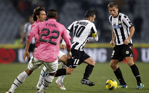 Udinese - Juventus: Buổi dã ngoại kỳ thú