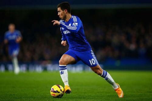 """Top 10 cầu thủ xuất sắc nhất Premier League: Hazard """"vô đối"""""""