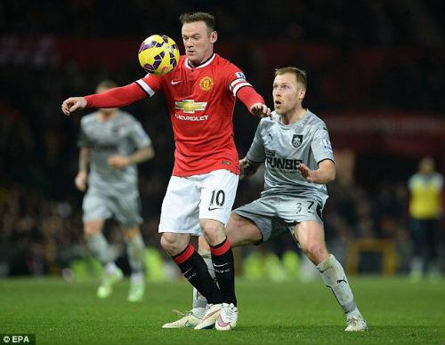 MU: Van Gaal đang làm hại Rooney