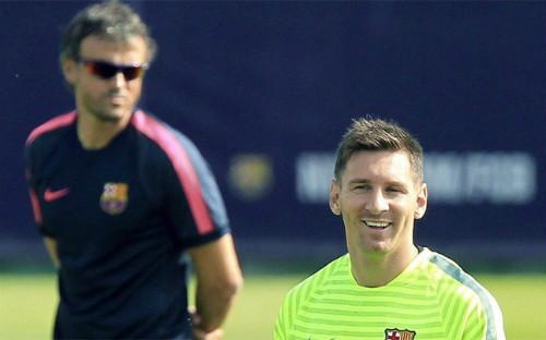 Messi dù xuất sắc đến đâu vẫn dưới quyền Enrique