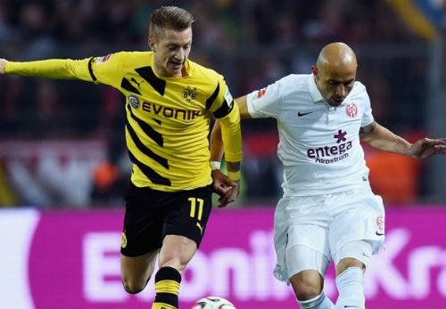 Dortmund - Mainz: Hiệp 2 bùng nổ