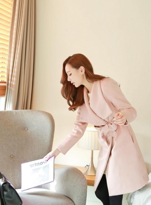 12 chiếc áo khoác màu pastel đẹp đến không thể chối từ - hình ảnh 11
