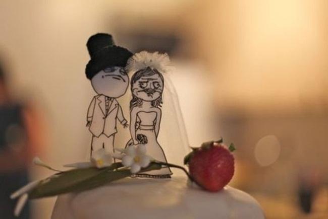 Những chiếc bánh cưới bá đạo 'khó đỡ' nhất - hình ảnh 1