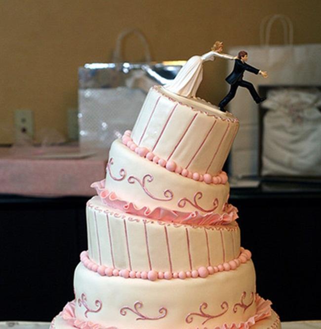 Những chiếc bánh cưới bá đạo 'khó đỡ' nhất - hình ảnh 3