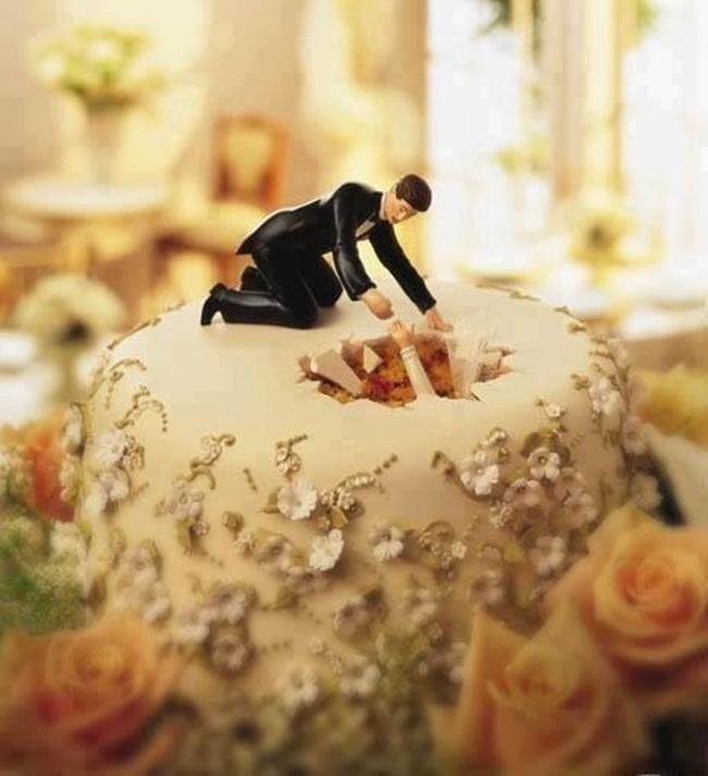 Những chiếc bánh cưới bá đạo 'khó đỡ' nhất - hình ảnh 5