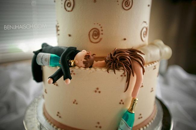 Những chiếc bánh cưới bá đạo 'khó đỡ' nhất - hình ảnh 12
