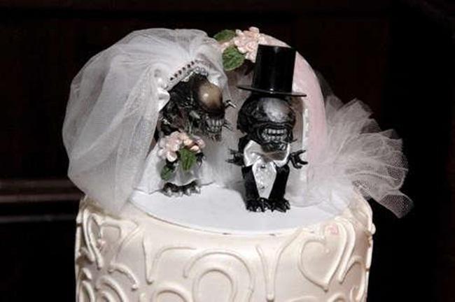 Những chiếc bánh cưới bá đạo 'khó đỡ' nhất - hình ảnh 13