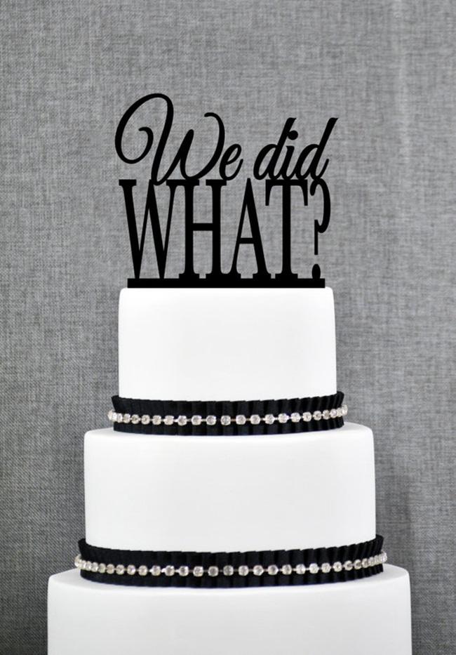Những chiếc bánh cưới bá đạo 'khó đỡ' nhất - hình ảnh 16
