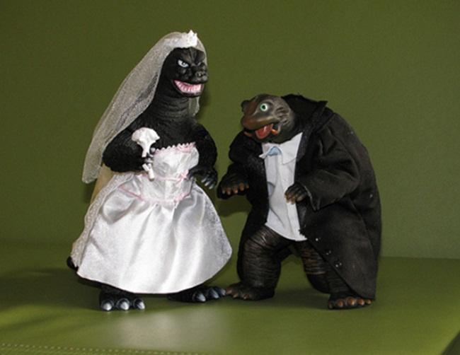 Những chiếc bánh cưới bá đạo 'khó đỡ' nhất - hình ảnh 18