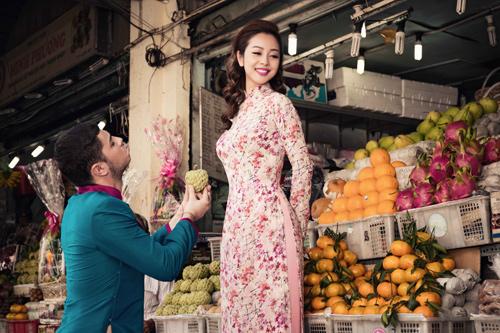 Jennifer Phạm và bạn nhảy Tây tình tứ đi sắm Tết - hình ảnh 7