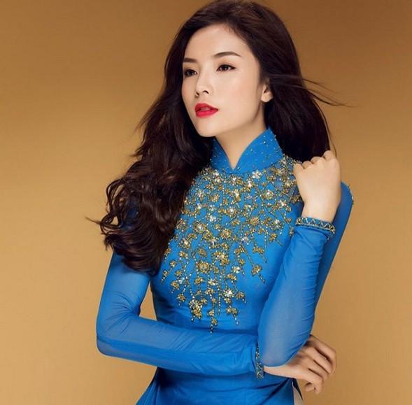 Kỳ Duyên được mời dự thi Hoa hậu Trái đất - hình ảnh 4