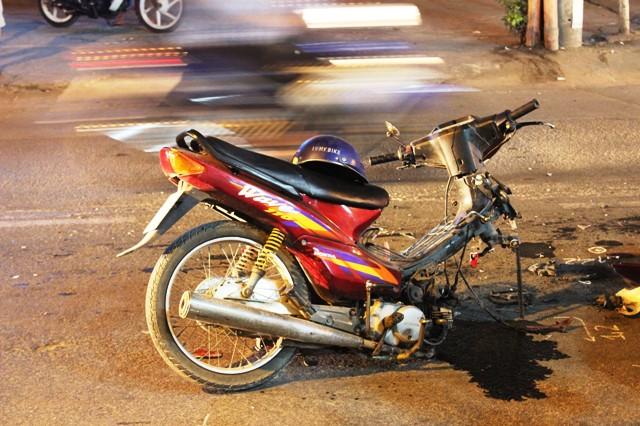 Truy tìm ô tô trong vụ tai nạn chết người ở Sài Gòn - hình ảnh 2