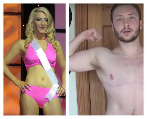 Người đẹp Mỹ 6 lần thi hoa hậu bất ngờ chuyển giới - hình ảnh 1