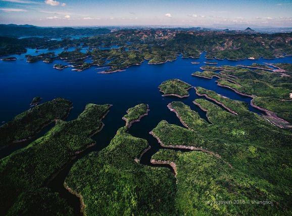 Bộ ảnh tuyệt đẹp về Việt Nam nhìn từ trên cao - hình ảnh 19
