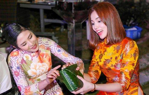 Hoa hậu Kỳ Duyên xuống tóc rộn ràng đón năm mới - hình ảnh 4