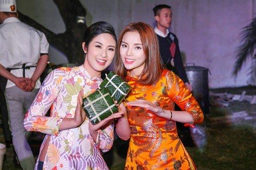 Hoa hậu Kỳ Duyên xuống tóc rộn ràng đón năm mới - hình ảnh 6