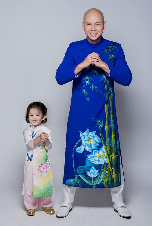 Con gái thiên thần ngọt ngào hôn bố Phan Đinh Tùng - hình ảnh 5