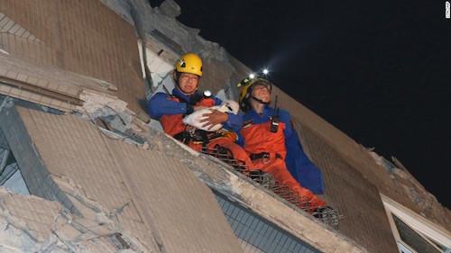 4 người Việt mất tích trong vụ động đất tại Đài Loan - hình ảnh 2