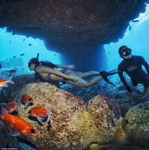 Nữ ngư dân quyến rũ giết bạch tuộc bằng răng - hình ảnh 12