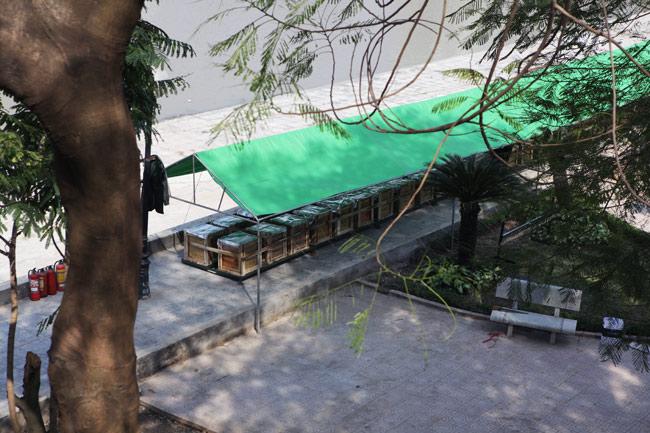 HN: Trận địa pháo hoa được bảo vệ nghiêm ngặt trước giờ G - hình ảnh 12